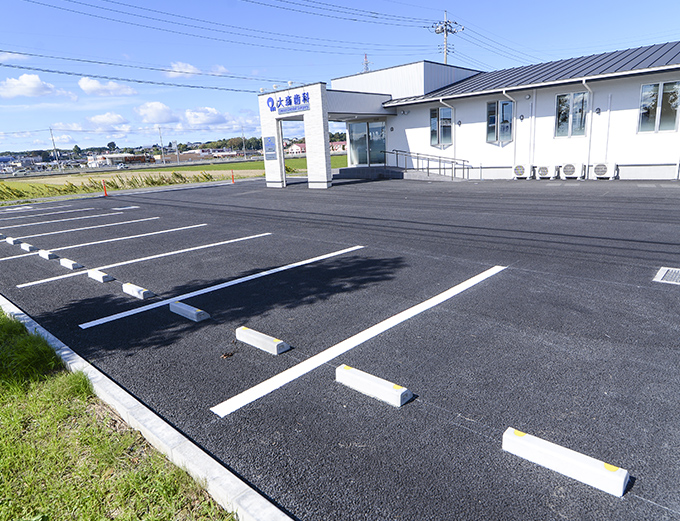 駐車場(15台、車いす用2台)